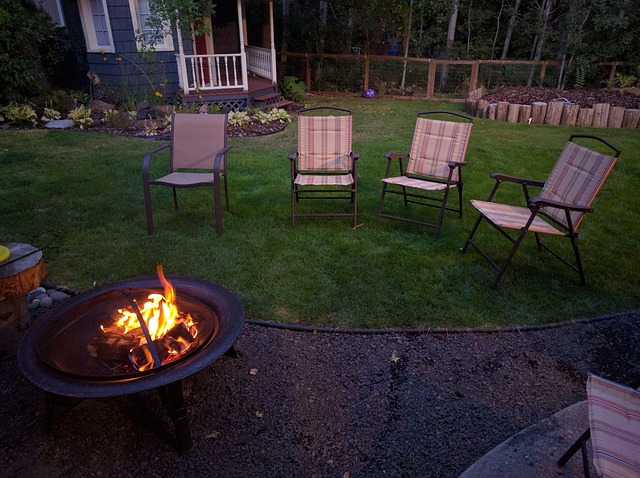 fire pit location