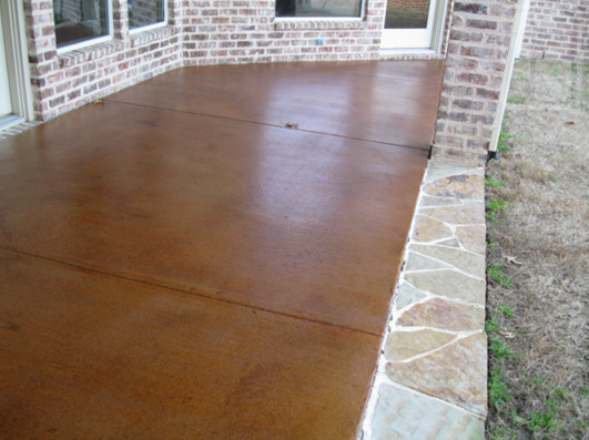 stained-patio